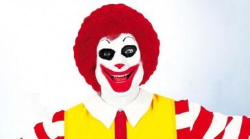 Ronald Mac Donald Facial Hair